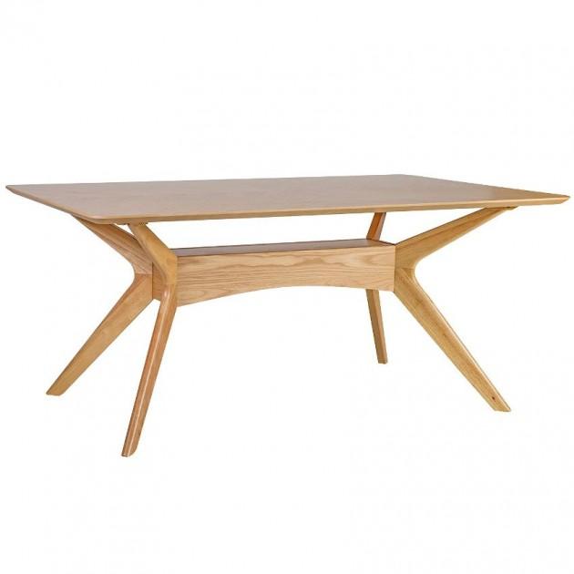 На фото: Прямокутний стіл Razor (20863), Обідні столи Home4You, каталог, ціна
