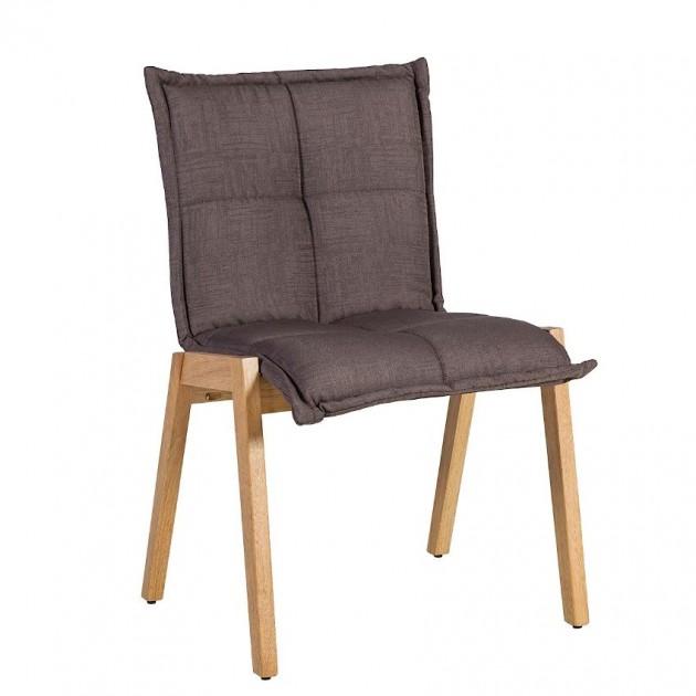 На фото: Стілець Razor Brown (k20864), М'які стільці Home4You, каталог, ціна