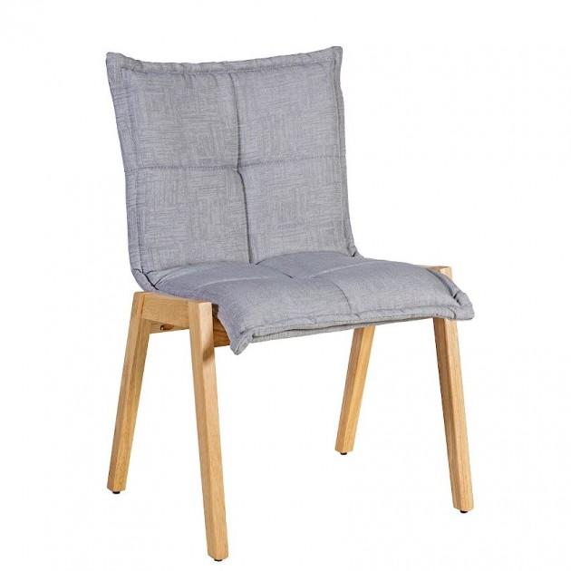 На фото: Стілець Razor Light Grey (k20865), М'які стільці Home4You, каталог, ціна