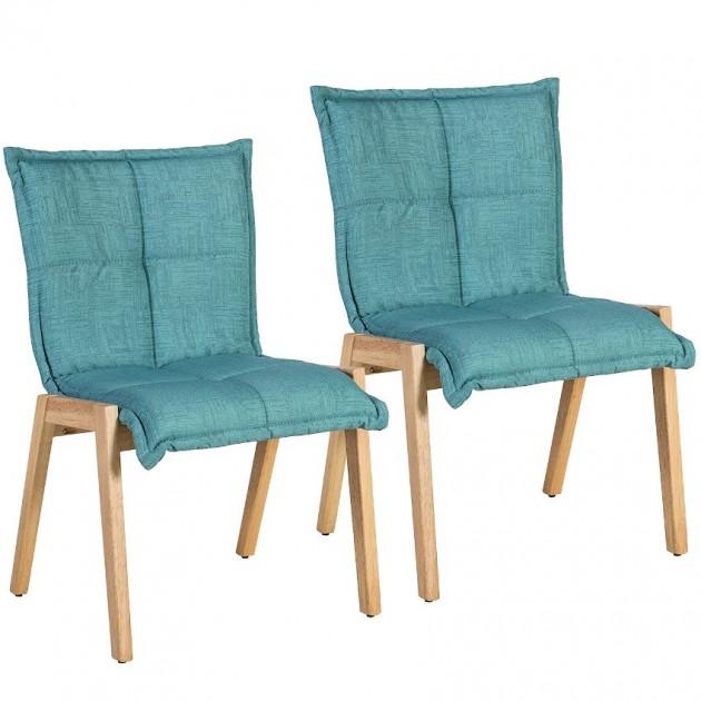 На фото: Стілець Razor Light Blue (k20866), М'які стільці Home4You, каталог, ціна