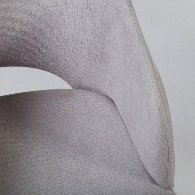 На фото: Крісло Salute Light Grey (20795), М'які крісла Home4You, каталог, ціна