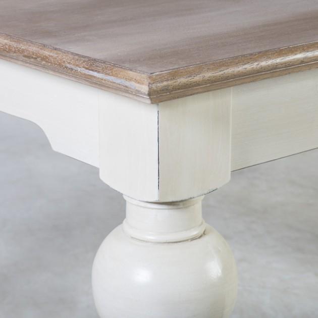 На фото: Обідній стіл Samira (13761), Обідні столи Home4You, каталог, ціна