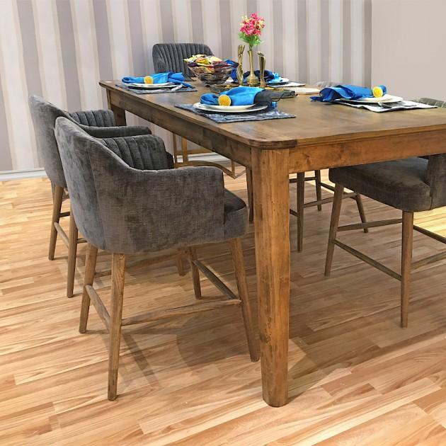 На фото: Барний стілець Thomas (11586), Барні стільці і столи Home4You, каталог, ціна