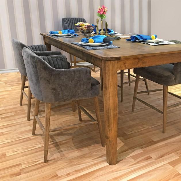 На фото: Барний комплект Thomas (k11585), Барні стільці і столи Home4You, каталог, ціна