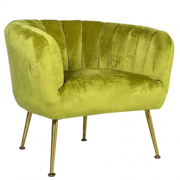 На фото: М'яке крісло Tucker Light Green (20153), М'які крісла Home4You, каталог, ціна