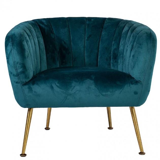 На фото: М'яке крісло Tucker Sea Blue (20154), М'які крісла Home4You, каталог, ціна