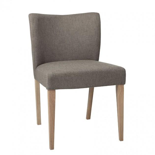 На фото: Стілець Turin Grey (11329), М'які стільці Home4You, каталог, ціна
