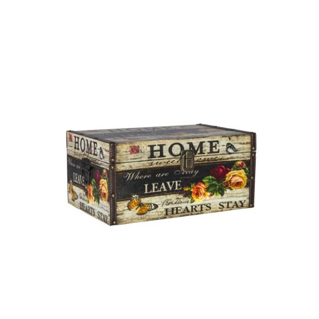 На фото: Коробка Ventura (74072), Шкатулки і коробки Home4You, каталог, ціна