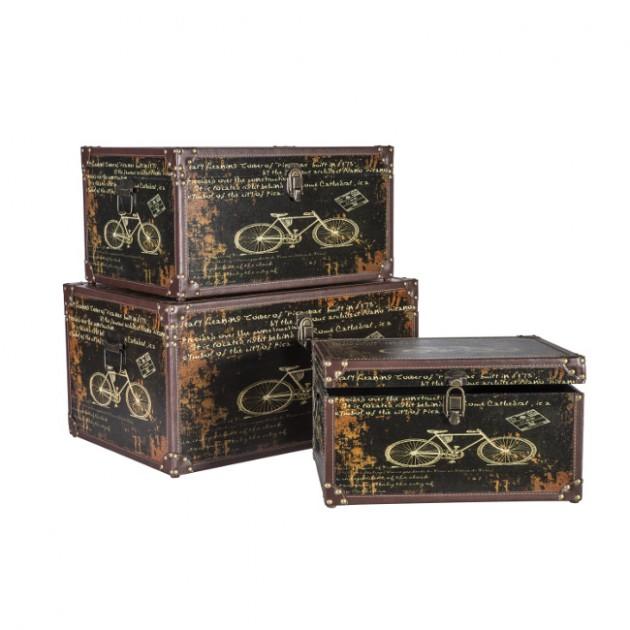 На фото: Набір коробок Ventura (7409), Шкатулки і коробки Home4You, каталог, ціна