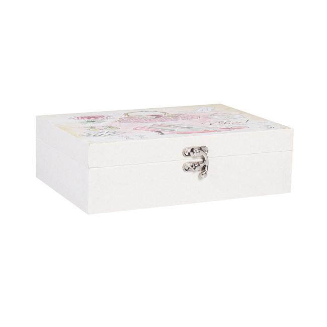 На фото: Коробка Ventura (75231), Шкатулки і коробки Home4You, каталог, ціна
