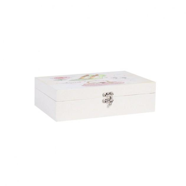 На фото: Коробка Ventura (75232), Шкатулки і коробки Home4You, каталог, ціна