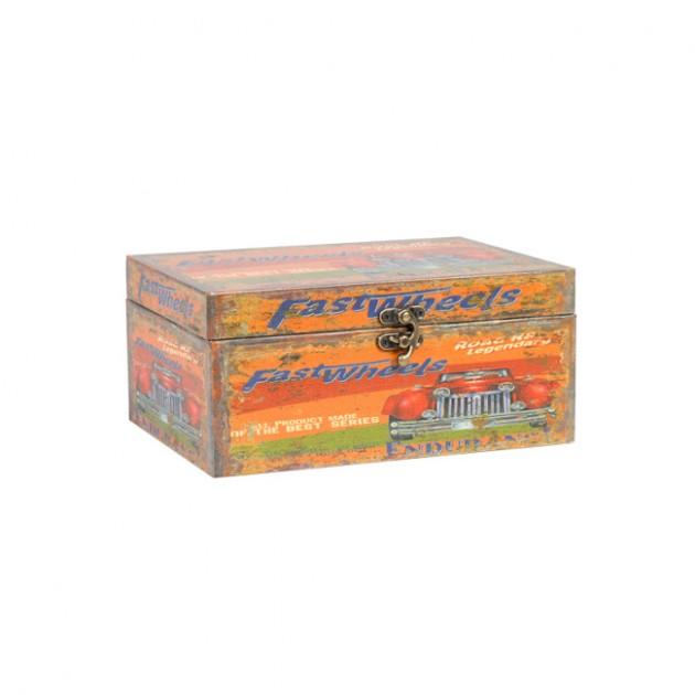 На фото: Коробка Ventura (75241), Шкатулки і коробки Home4You, каталог, ціна