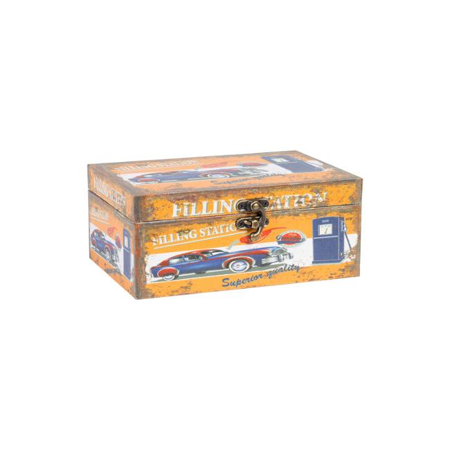 На фото: Коробка Ventura (75242), Шкатулки і коробки Home4You, каталог, ціна