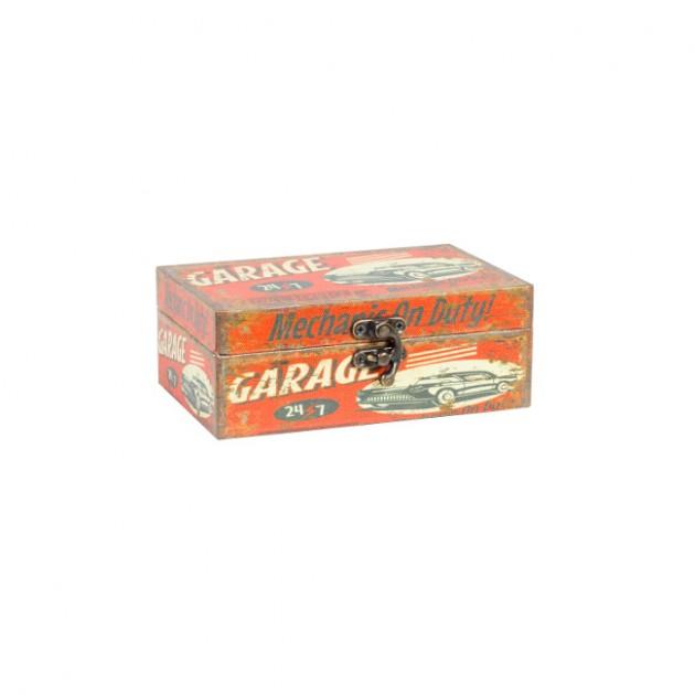 На фото: Коробка Ventura (75243), Шкатулки і коробки Home4You, каталог, ціна