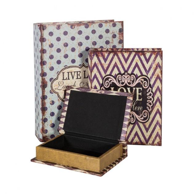 На фото: Набір коробок Ventura (7632), Рамки та фотоальбоми Home4You, каталог, ціна