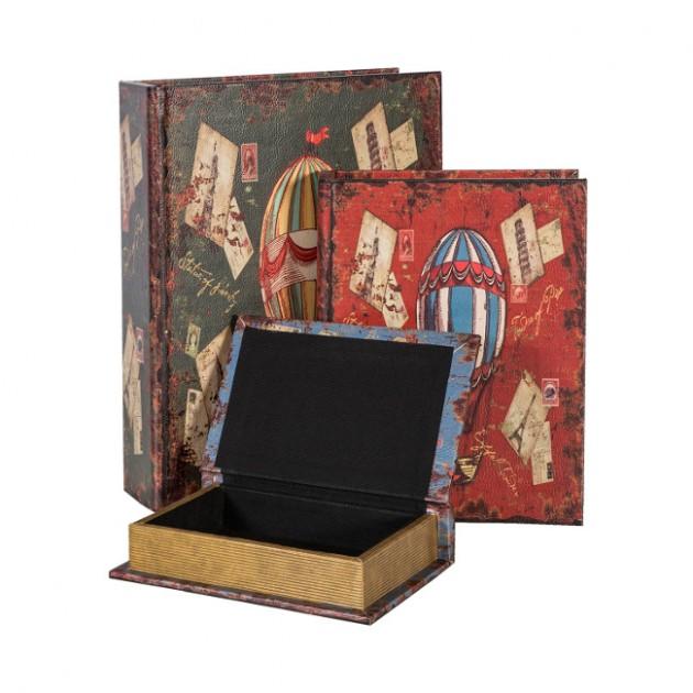 На фото: Набір коробок Ventura (7633), Рамки та фотоальбоми Home4You, каталог, ціна