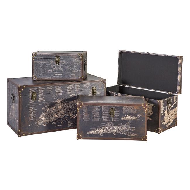 На фото: Набір коробок Ventura (8364), Шкатулки і коробки Home4You, каталог, ціна
