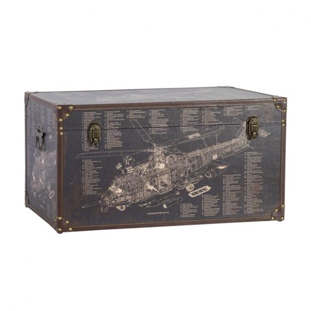 На фото: Коробка Ventura (83641), Шкатулки і коробки Home4You, каталог, ціна