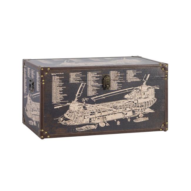 На фото: Коробка Ventura (83642), Шкатулки і коробки Home4You, каталог, ціна