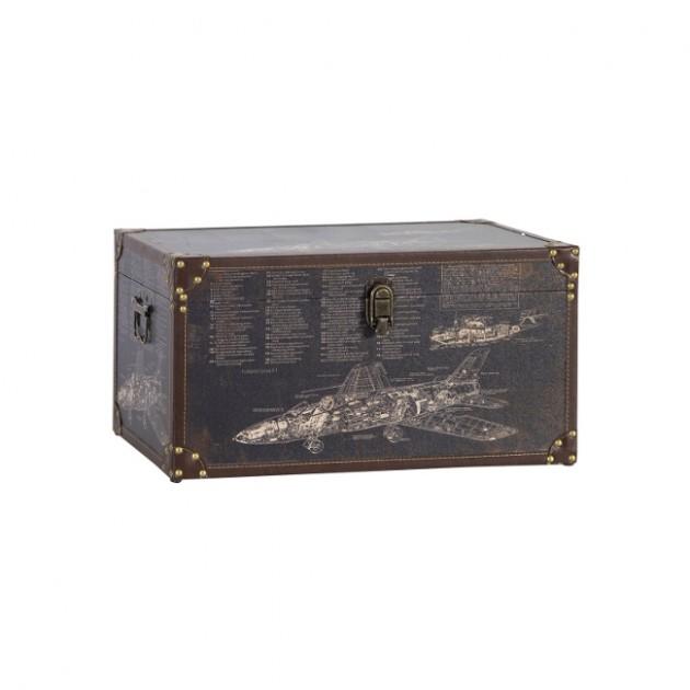 На фото: Коробка Ventura (83643), Шкатулки і коробки Home4You, каталог, ціна