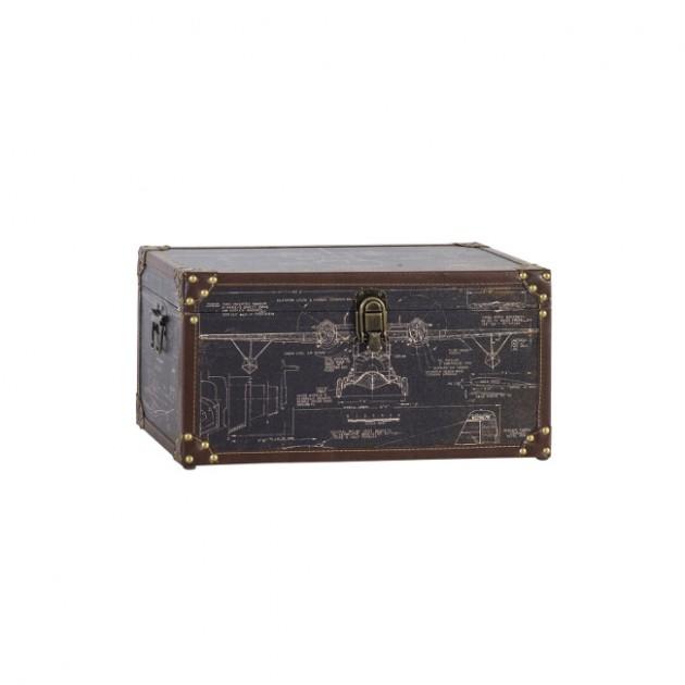 На фото: Коробка Ventura (83644), Шкатулки і коробки Home4You, каталог, ціна
