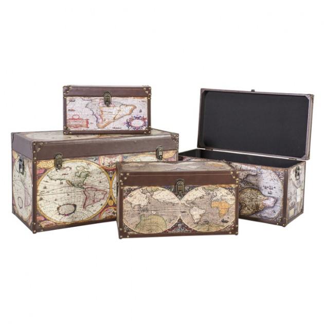 На фото: Набір коробок Ventura (8365), Шкатулки і коробки Home4You, каталог, ціна
