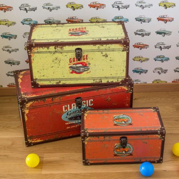 На фото: Набір коробок Ventura (k75221), Шкатулки і коробки Home4You, каталог, ціна