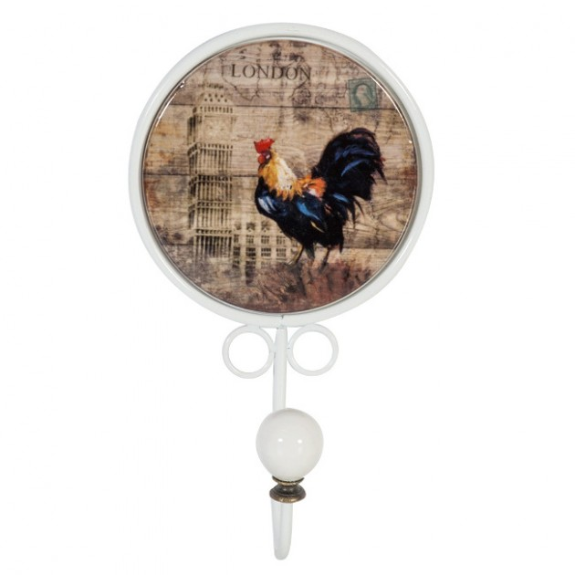 На фото: Настінна вішалка Rise&Shine (7606), Вішалки для одягу Home4You, каталог, ціна
