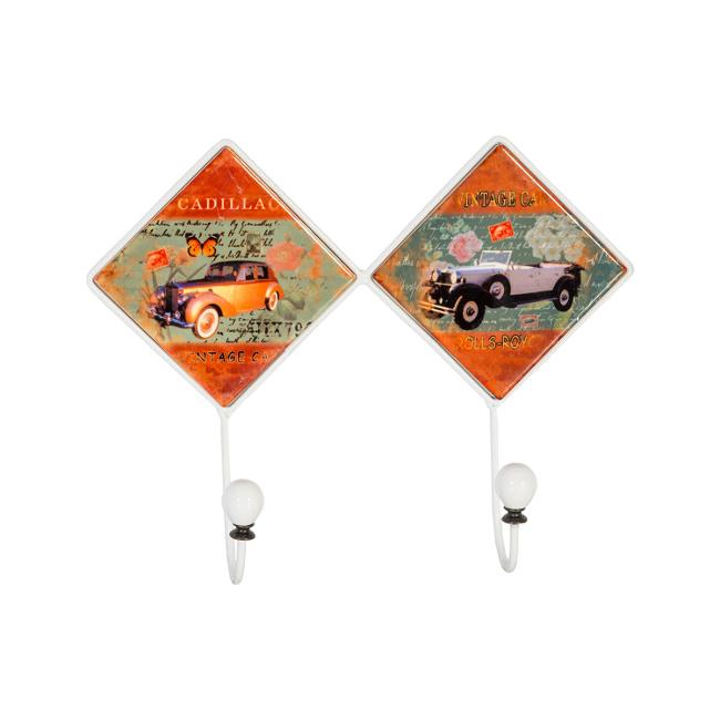На фото: Настінна вішалка Ventura (76302), Настінні вішалки Home4You, каталог, ціна
