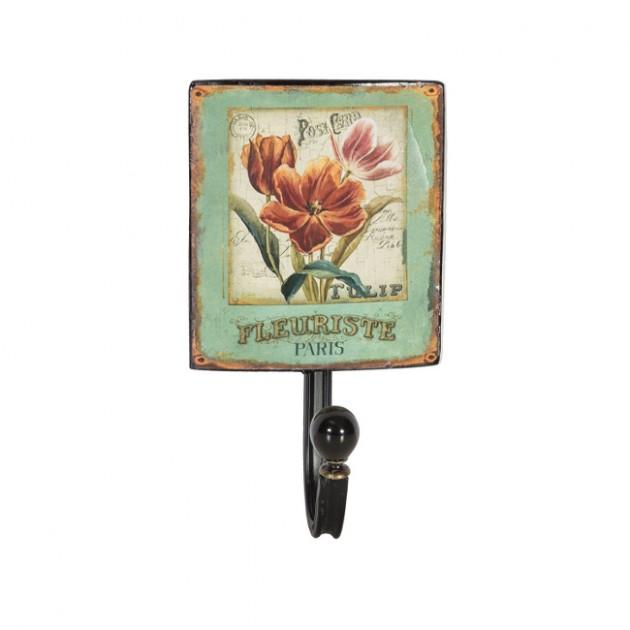 На фото: Настінна вішалка Ventura (76308), Настінні вішалки Home4You, каталог, ціна