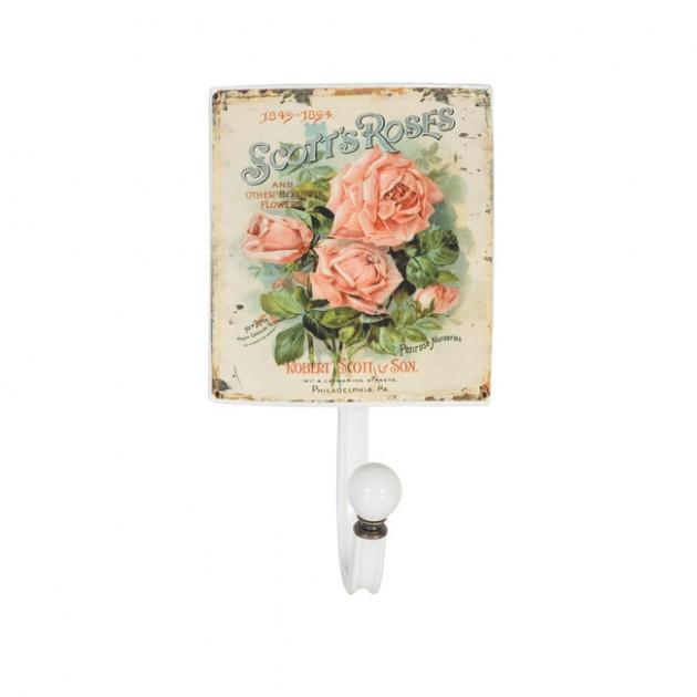 На фото: Настінна вішалка Ventura (76309), Настінні вішалки Home4You, каталог, ціна