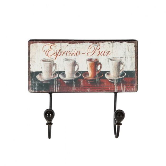 На фото: Настінна вішалка Ventura (76311), Настінні вішалки Home4You, каталог, ціна