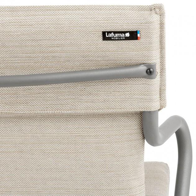 На фото: Крісло Ancone Latte (LFM2942-7710), Стільці з текстилену Lafuma, каталог, ціна