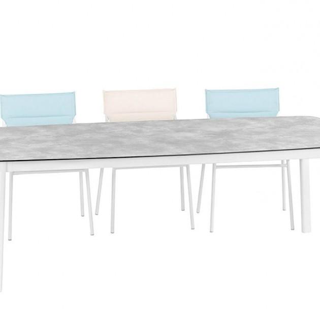 На фото: Прямокутний стіл Ancone Ciment (LFM2948-9292), Великі столи Lafuma, каталог, ціна