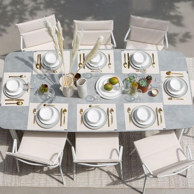 На фото: Крісло Ancone Argile (LFM2965-9271), Стільці з текстилену Lafuma, каталог, ціна