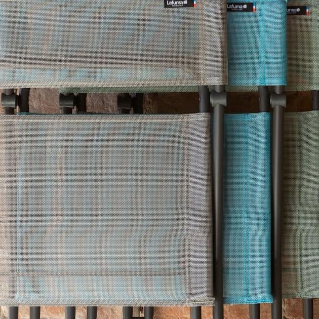 На фото: Стілець Balcony Lac (lfm2600-8553), Металеві стільці Lafuma, каталог, ціна