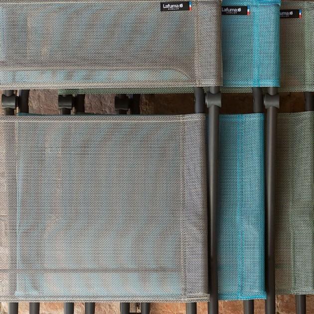 На фото: Стілець Balcony Terracotta (lfm2600-8899), Металеві стільці Lafuma, каталог, ціна