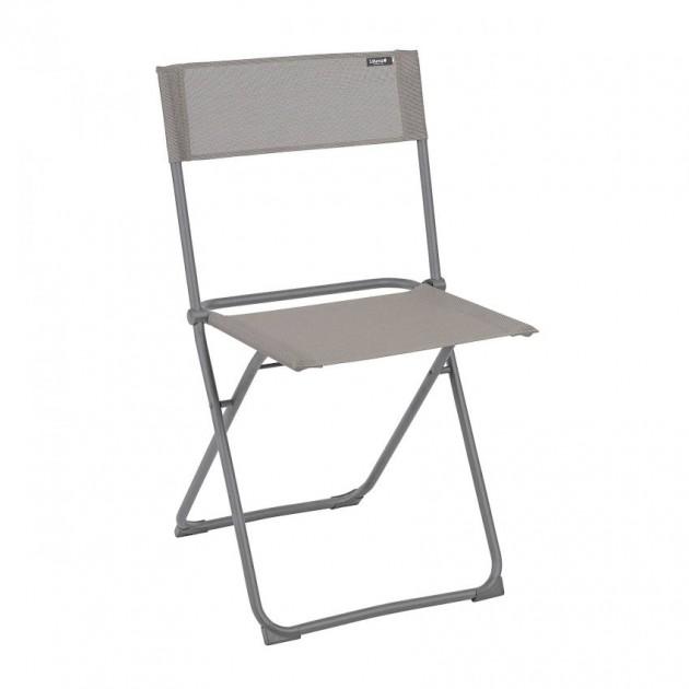На фото: Стілець Balcony Terre (lfm2600-8556), Металеві стільці Lafuma, каталог, ціна