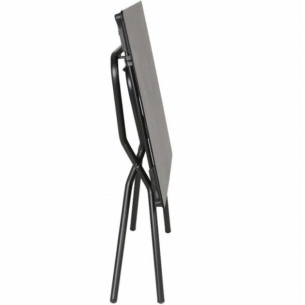 На фото: Прямокутний стіл Anytime Mineral 110x68 Black (LFM2715-9299), Складані столи Lafuma, каталог, ціна