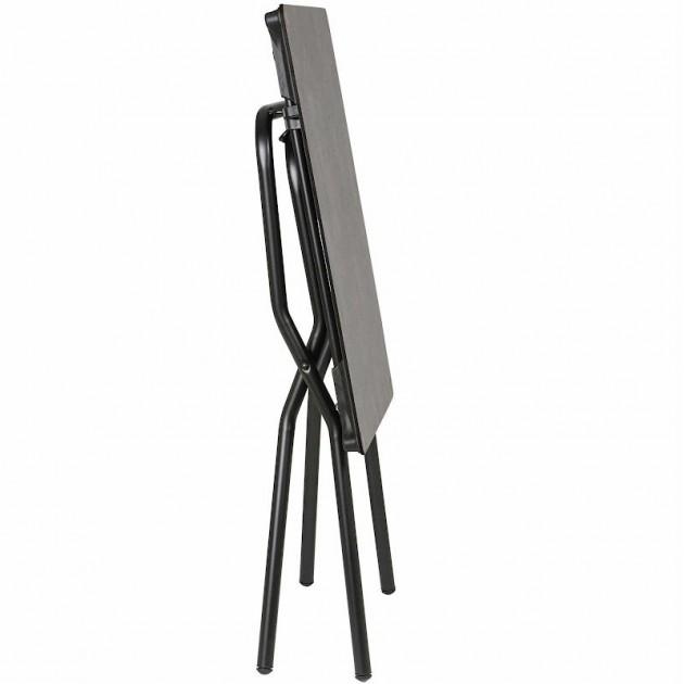 На фото: Квадратний стіл Anytime Mineral 64x68 Black (LFM2714-9299), Квадратні столи Lafuma, каталог, ціна
