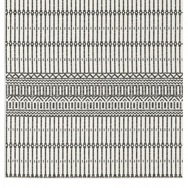 На фото: Вуличний килим Melya Ténéré Noir (LFM2953-9321), Килимки та циновки Lafuma, каталог, ціна