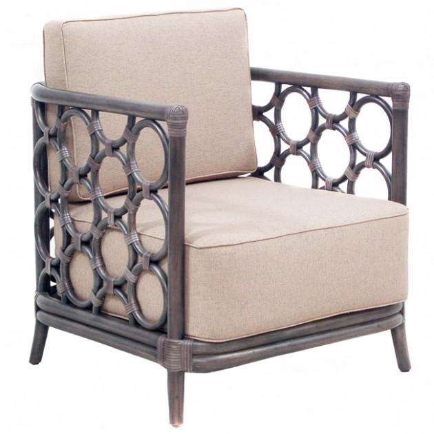 На фото: Крісло із ротангу Lyla (200600), Крісла з ротангу Вілла Ванілла, каталог, ціна