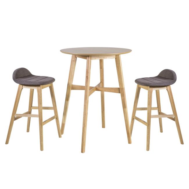 На фото: Барний комплект Bloom (k20937), Столові комплекти Home4You, каталог, ціна