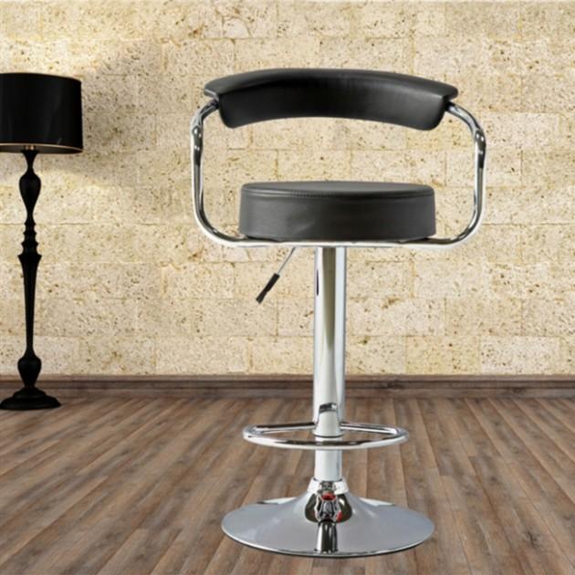 На фото: Барний стілець Leon (27769), Барні стільці і столи Home4You, каталог, ціна