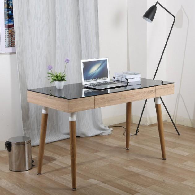 На фото: Письмовий стіл Newton (27316), Письмові столи Home4You, каталог, ціна
