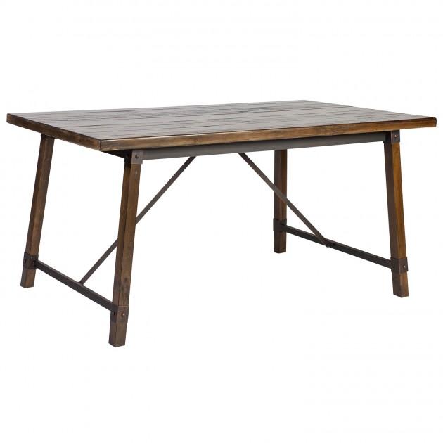 На фото: Обідній стіл Opus (75397), Обідні столи Home4You, каталог, ціна