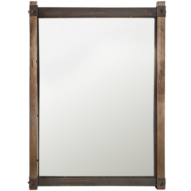 На фото: Дзеркало Opus (75406), Ширми і дзеркала Home4You, каталог, ціна