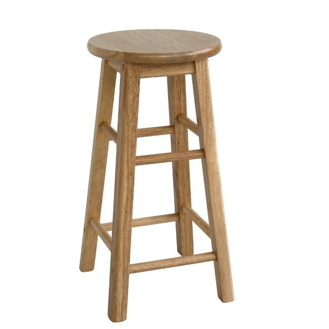На фото: Барний табурет Pub (0621), Дерев'яні стільці Home4You, каталог, ціна