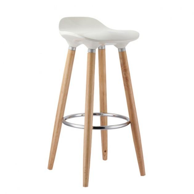 На фото: Барный стул Abba (27902), Барні стільці і столи Home4You, каталог, ціна