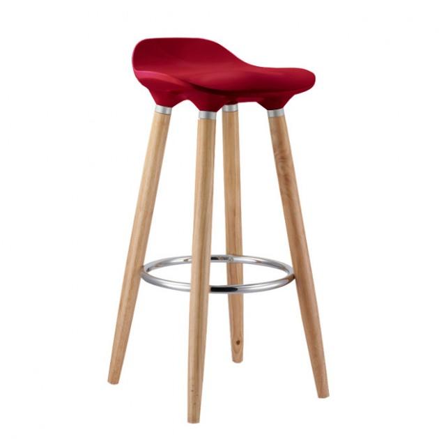 На фото: Барный стул Abba (27903), Барні стільці і столи Home4You, каталог, ціна